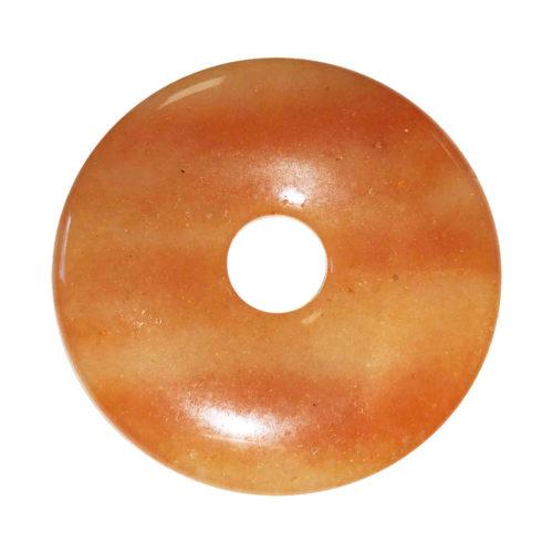 chinese-disc-donut-red-aventurine-pendant