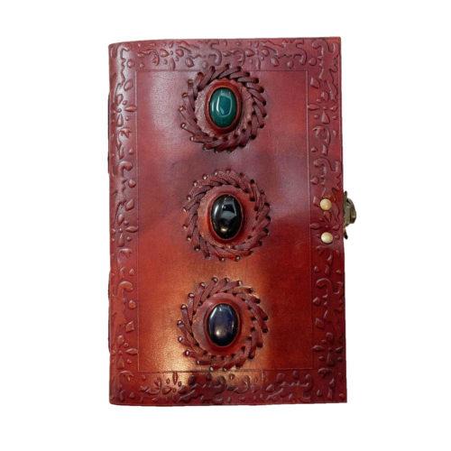 3-stone-leather-diary-journal-12x22cm-0