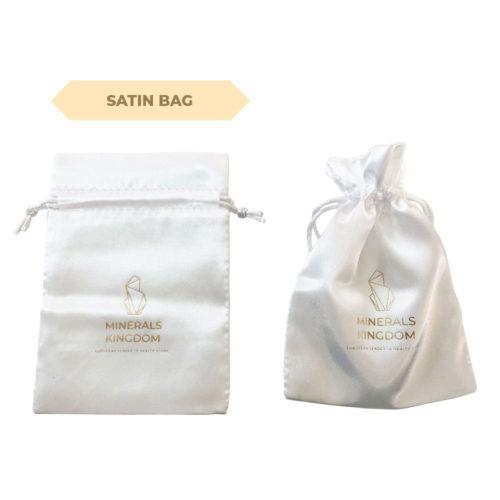 Minerals Kingdoms satin bag L