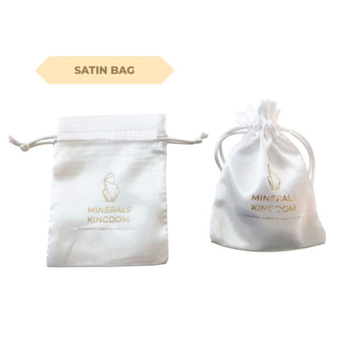 Minerals Kingdoms satin bag