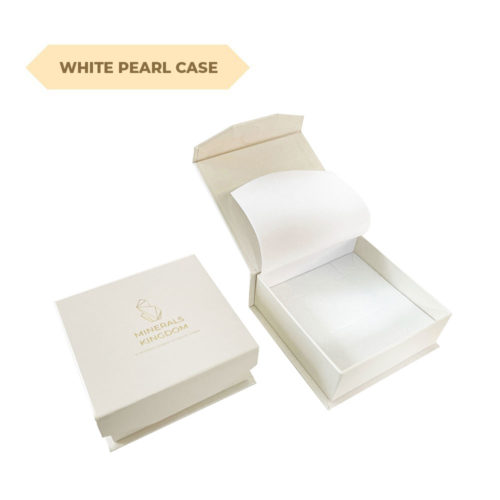 Minerals Kingdoms pearl white case