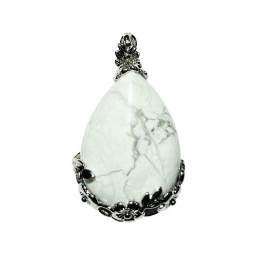 howlite-pendant-flowered-drop-01