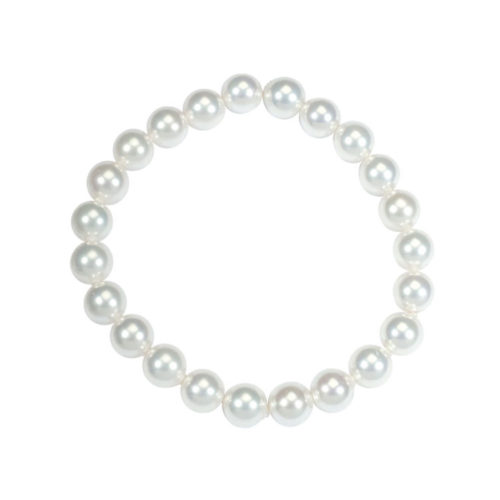 white-Majorca-beads-bracelet-round-beads-8mm-19cm-3180659-02
