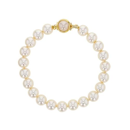 white-Majorca-beads-bracelet-round-beads-8mm-19cm-328677-01