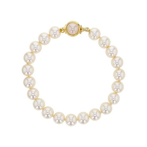 white-Majorca-beads-bracelet-round-beads-8mm-19cm-328677-02